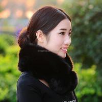Autumn and winter high quality fox fur collar false collar faux fur scarf muffler