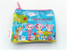 Promotional girls pvc coin purse , pvc coin pouch