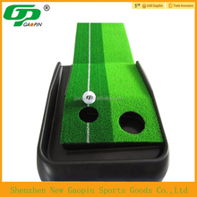 indoor golf trainer/golf mat/golf putting green chinese manufacture
