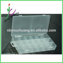 Conveniente caja de plástico transparente económico 2014 Diversos materiales de usos múltiples