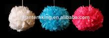 mix color tissuse paper pom pom paper flower