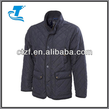 2014 Mens Quilted Jacket Padded Quilt Coat
