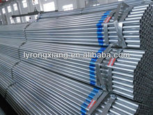Large stock ERW tube galvanized cold rolled steel pipes SS330