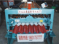 Hydraulic Press Braker steel roof sheet tile corrugated roof plate roll forming machinery