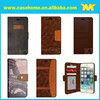 Latest Design Wallet Style PU leather Moible Phone Case For Apple iPhone 6/6 plus photo frame stand Case Cover