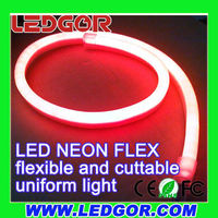Consistent wavelength 110V Red LED Neon Flex