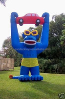 Advertising Giant Sealed Inflatable Gorilla Model for Sale/ INFLATABLE GORILLA/BLOWER 4 ADVERTISING PROMOTIONS