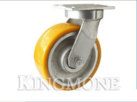 Various heavy duty casting iron and PU swivel castor wheels made in China