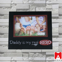 China supplier new products MDF photo frame wholesale rustic home decor