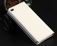 Leather Book Cover Wallet Flip Case for Huawei P8
