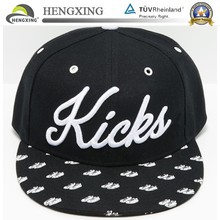 Wholesale Yupoong Blank Plain Custom Embroidery Two Tone Basketball Snapback Hat