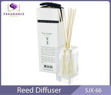 High end room Rose trade assurance reed diffuser lavender essential oil