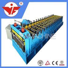 Most Popular Color Steel Tile aluminum&metal garage roller shutter door piece roll forming machine