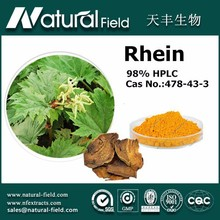 high quality herb medicine extract rhein for food/cosmetics/medical