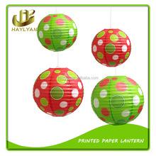 2016 Cheap Custom Printed Paper Lantern