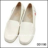 2013 Brand Name medical shoes in women's shoes All Genuine Leather White Working Shoes in Hospitals
