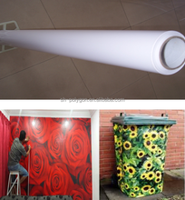 printing self adhesive vinyl sticker for decoration