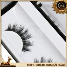 wholesale long and thicker natural color hand made mink false eyelash fake eyelash for eyelash extension