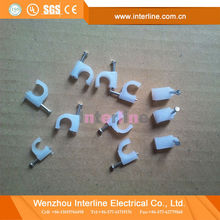 Professional Manufacturer Wholesale Nylon Cable Tie Electric Wire Cable Clips