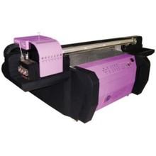 Digital real leather uv printer with six Roich print heads, uv flatbed printer 1.3m * 1.3m