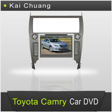 8 inch Double din car dvd gps for Toyota Camry 2012