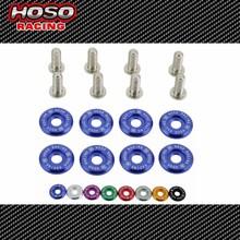 HOSO RACING 1set=8pcs washers and bolt Fender Washers
