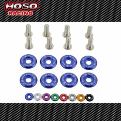 HOSO RACING 1set=8pcs washers and bolt Fender Washers