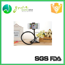 Hot selling high quality portable bathroom lazy phone holder,funny cell phone holder for desk