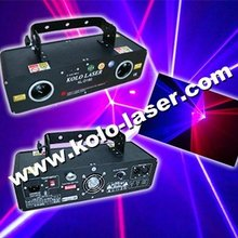 red and violet double laser show system
