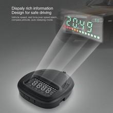 2 Inch GPS Head Up Dispaly Green LED A1 HUD Head Up Display Car HUD display Speedometer Speeding Warm