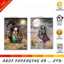 personlized printing happy halloween party invitation card