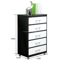 HX-MZ739 hot sale China export wooden chest of drawer