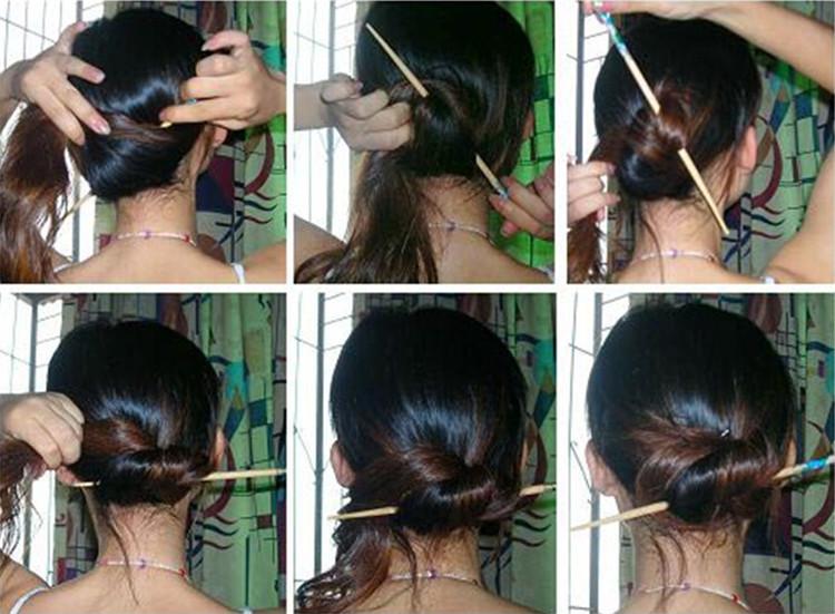 Китайские причёски пошаговое