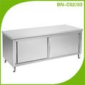 Hotel acero inoxidable gabinete de cocina / armario de la cocina BN-C02