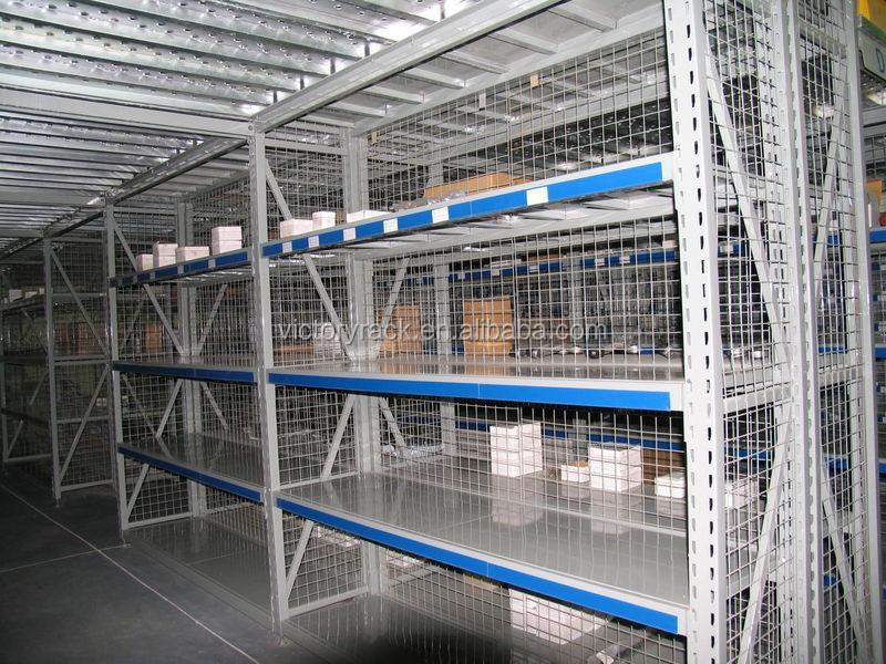 Industrial Garaje Almacenamiento De Estanter As Mezzanine