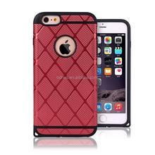 Dual-layer design smart phone case for iphone6 plus 5.5