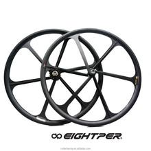 700c fixed gear single speed fixie black 3 spoke bicycle wheel