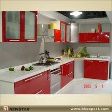UV Lacquer Kitchen Furniture