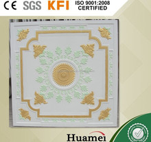 603*603 mm Suspended Two Color gypsum Suspended Ceiling/ 595*595*9mm