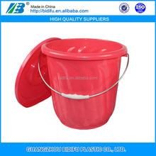 food grade plastic water pail ice bucket plastic blue plastic barrel drums