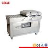 Cheap semi-automatic roast chicken vacuum packaging machine