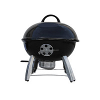 Portable Kettle Charcoal BBQ Barbecue Grills For Indoor& Camping Activity Outdoor Kitchen Equipment