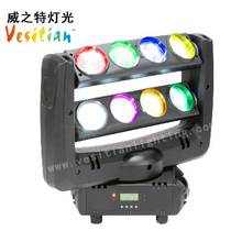 led moving head professional 8X10w led spider light double face led moving head
