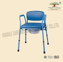 elderly disabled commodes chair Blue toilet chair