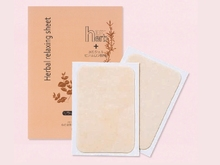 Cooling detox slim foot patch for hotel amenity made in Japan
