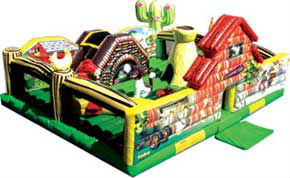 inflable 2013 poco granja gorila jumper para los niños pequeños y niños pequeños