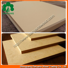 Economical plain 3.5mm/5mm MDF board of high cost performance for backboard