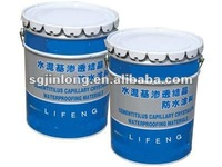 Polymer modified cement waterproof coating