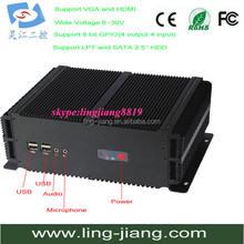 Embedded single board computer with onboard Intel core 2 duo CPU (LBOX-GM45)