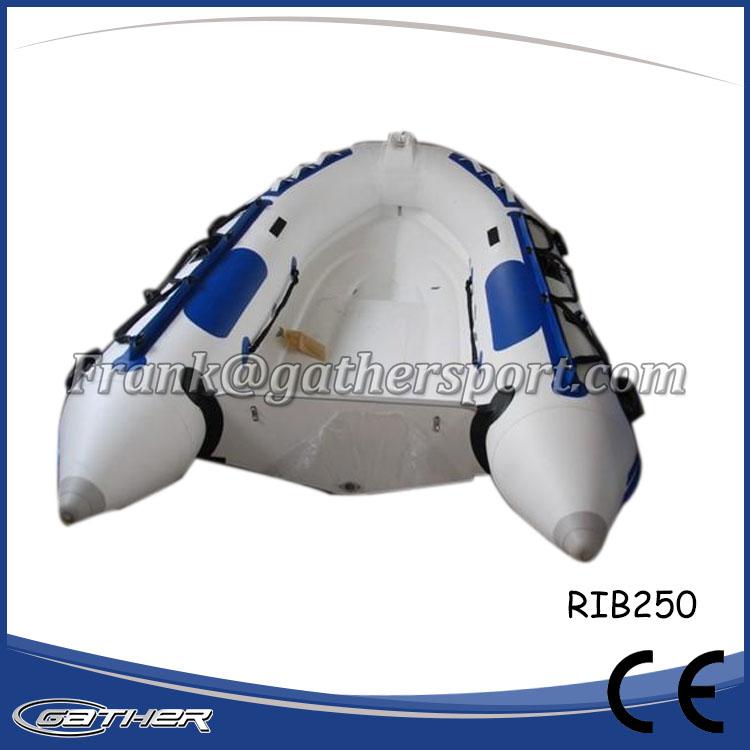 2.5M RIGID INFLATABLE BOAT RIB250 2